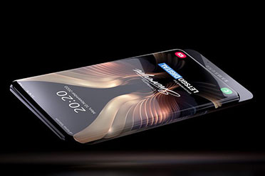 三星环绕屏手机概念图亮相 手机机身几乎全是屏幕!