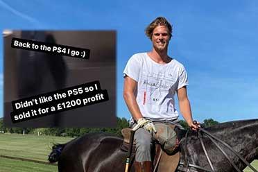 英国演员将索尼赠送PS5出售 网友:高价转卖令人不齿