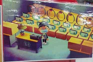 日本大型电器店贴诡异海报内含