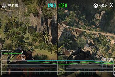 数毛社《COD17》PS5/XSX测试 对比光追 120Hz模式