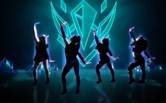 《舞力全开2021》即将与拳头公司合作推出KDA乐曲