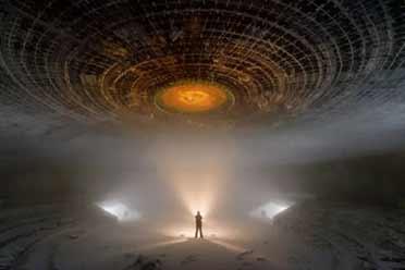 保加利亚冬季的幽浮废墟奇景!大开眼界的神奇照片!