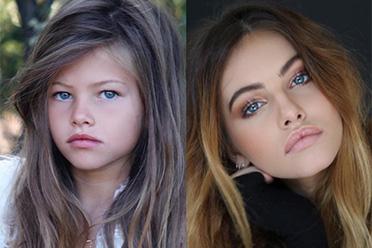 """""""世界第一美少女""""长大了!可爱小女孩变火辣模特"""