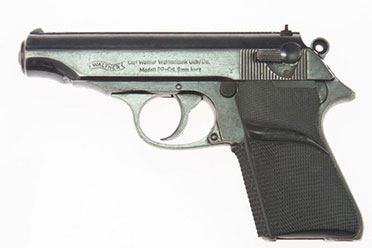 初代007使用的道具手枪被拍卖 售价高达256000美元