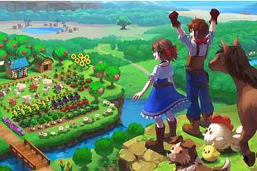 种田养老!牧场模拟游戏《丰收之月》于明年3月登陆NS