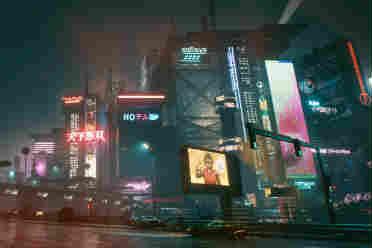 《赛博朋克2077》海量截图 最高画质+光线追踪+ 4K!