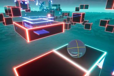 电竞类动作解谜游戏《Cybershift》专题站上线