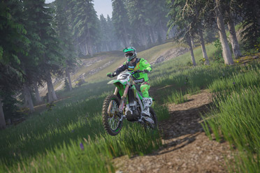 刺激的摩托车竞速类游戏《越野摩托2020》专题站上线