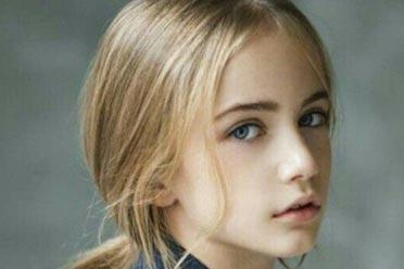 """""""世界最美女孩""""长大了!俄罗斯精致冷艳童模Marta!"""