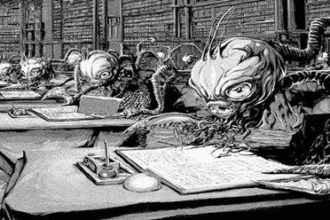 这漫画把克苏鲁的恐怖给画出来了 《超越时空之影》