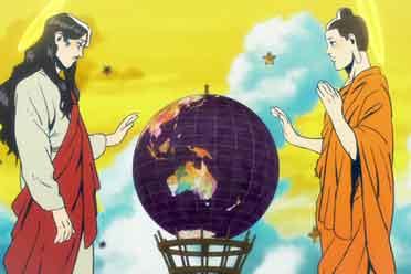 这部动画讲述耶稣和佛陀同居的日子 让人笑得停不下来