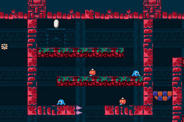 像素风格平台动作冒险游戏《百次机会堡垒》专题上线