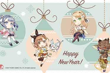 《莱莎的炼金工房2 》新年贺图发布 做壁纸太可爱了!