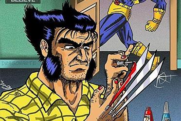金刚狼是个精致Boy!超级英雄不拯救世界时在干什么