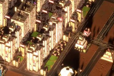 网络朋克城市建设游戏《滑动城市》游侠专题站上线