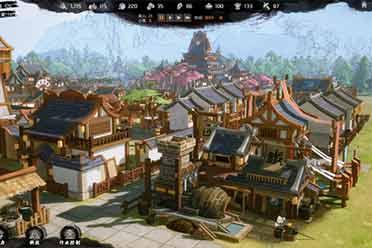 国风模拟经营《天神镇物语》上架Steam 3月20日发售