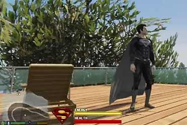 横行霸道 无所不能的超人!《GTA5》终极超人MOD发布