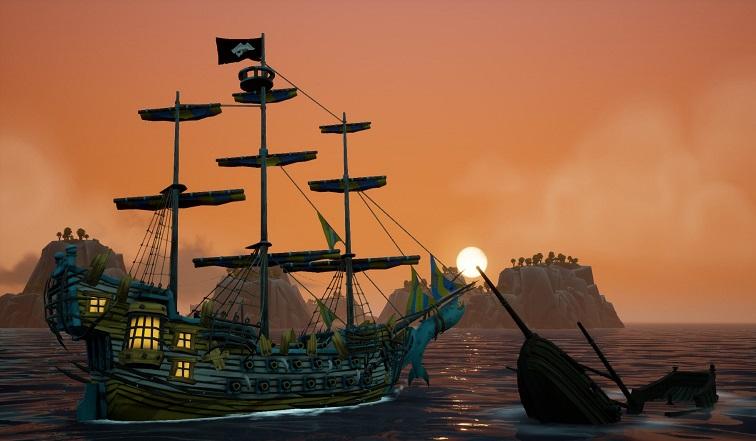 海盗动作RPG游戏《海洋之王》将发售 不支持中文