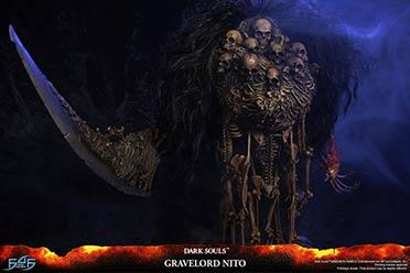 《黑暗之魂》墓王尼特主题雕像开订 你被吓到了吗?