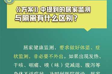 国家卫健委再次回应春节返乡问题:何为居家健康监测