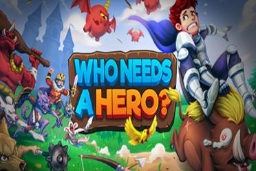 中世纪背景休闲冒险游戏《谁需要英雄》专题上线