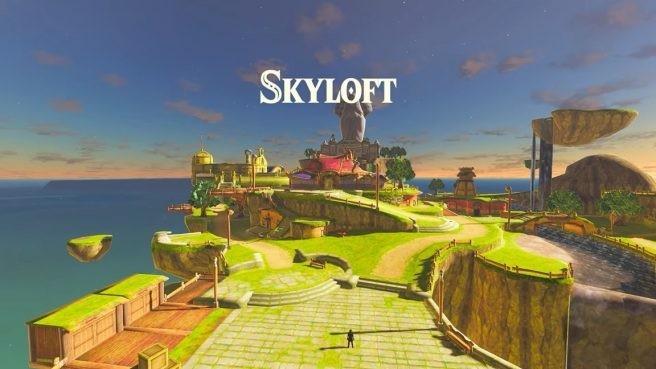 技术玩家修改重制《塞尔达传说:旷野之息》野外地图