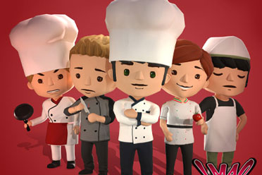 模拟经营《厨师:餐厅大亨》1.0完全汉化补丁发布!