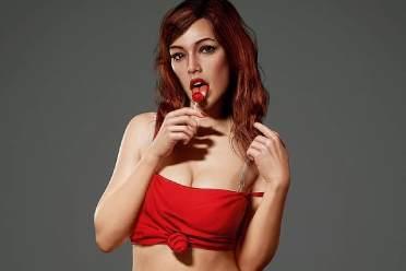 超逼真的《GTA4》封面美女3D模型赏 性感红袜吸睛!