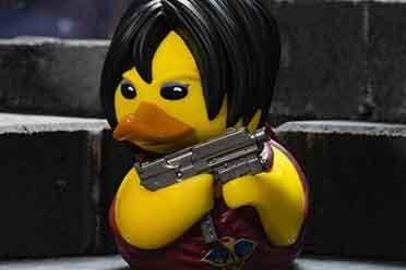 TUBBZ推出《生化危机》联动小黄鸭 艾达王化身可爱鸭