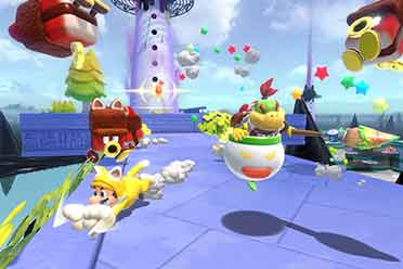 《马里奥3D世界+酷霸王之怒》IGN 7分 很棒但不是必玩