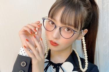 """戴上眼镜的""""政委""""也太美了!美女声优上坂堇美照赏"""