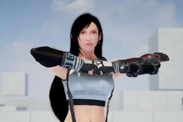 《铁拳7》FF7蒂法mod演示 动作流畅还有5套不同装扮!