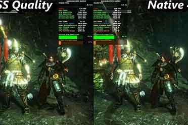 油管用户做《仁王2》PC版对比视频:DLSS vs 原生4K