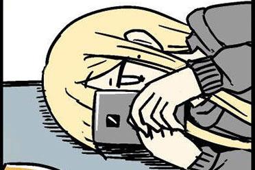 岛国漫画家绘制长假的心情转折 看看你被说中了吗?
