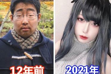 """日本小哥18岁和30岁对比堪称""""转世""""!说没整都不信"""