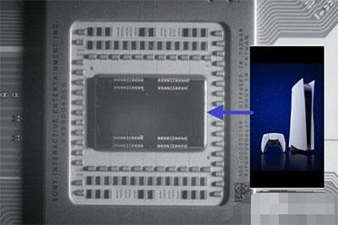PS5 APU核心照片首度曝光:AMD Radeon RX 6000 GPU