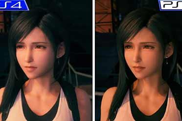 《最终幻想7:重制版》PS5 vs PS4 画质对比动画赏!