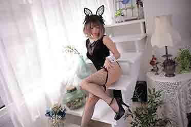 人见人爱的兔女郎来了!11区Coser咲本橋美图赏