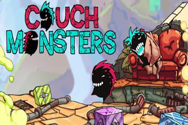 益智解谜双人合作游戏《沙发怪兽》专题上线