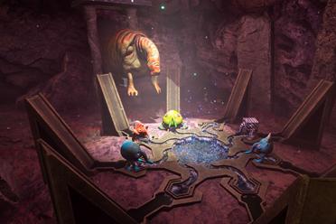 奇幻背景动作冒险生存游戏《永恒滚筒》专题上线