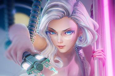 马头社《Subverse》角色建模/场景截图!3月26日发售