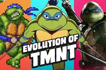 《忍者神龟》游戏形象进化史 还是2D的味儿最正宗!