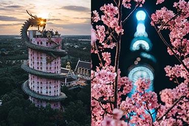 仿佛穿越异世界!日本一摄影师镜头下的全球魔幻建筑
