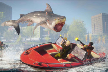 开放世界RPG《食人鲨》5月25日登陆NS!躺着吃人
