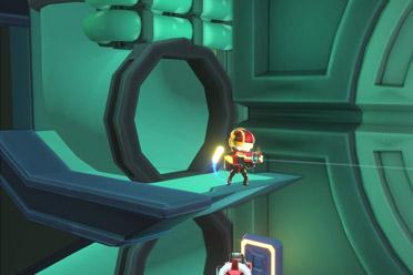 科幻风格的动作射击游戏《Holodrive》专题站上线