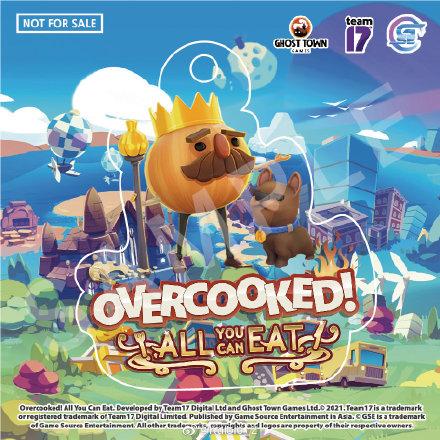 《胡闹厨房:全都好吃》已登录PS4/Xbox One/NS/PC平台