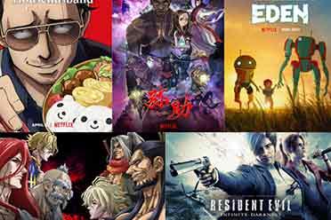 2021年Netflix「动画新作」:5部阵容强大的原创动漫!