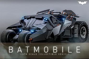 亮灯可动!Hottoys再次推出诺兰版蝙蝠车1/6模型