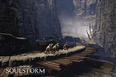 动作冒险游戏《奇异世界:灵魂风暴》介绍视频四连弹