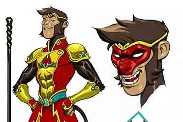 DC迎来猴王子超级英雄 灵感来自美猴王 八戒或登场